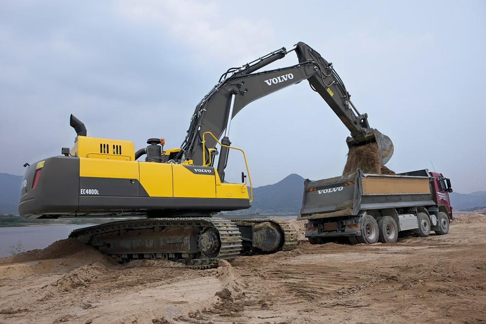 Volvo Construction Equipment - EC480D Excavators