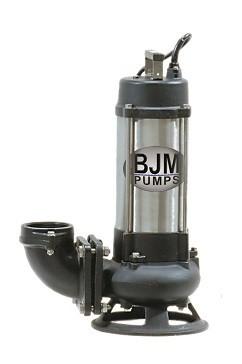 Submersible shredder pumps