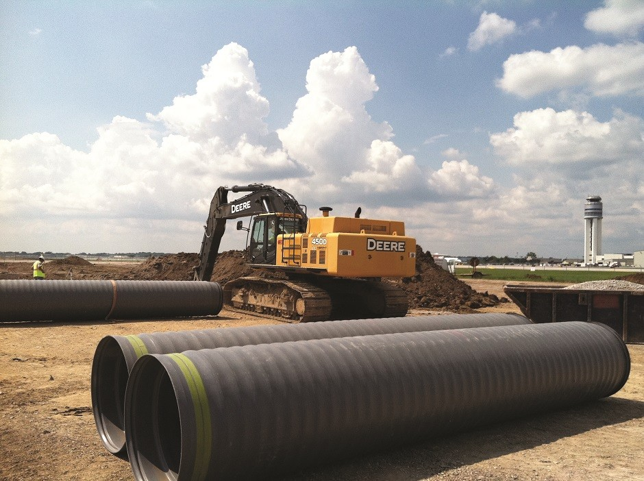 The Ontario Ministry of Transportation has included polypropylene pipe for sewer water management projects. SaniTite HP pipe is the first to qualify, according to its manufacturer, Advanced Drainage Systems, Inc.