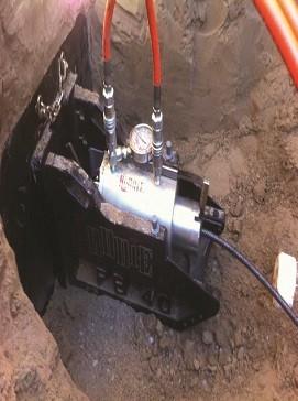 Pipe bursting system Pipe Bursting