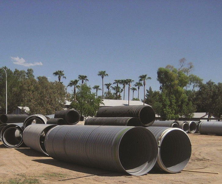 Stormwater drainage system succeeds due to high performance