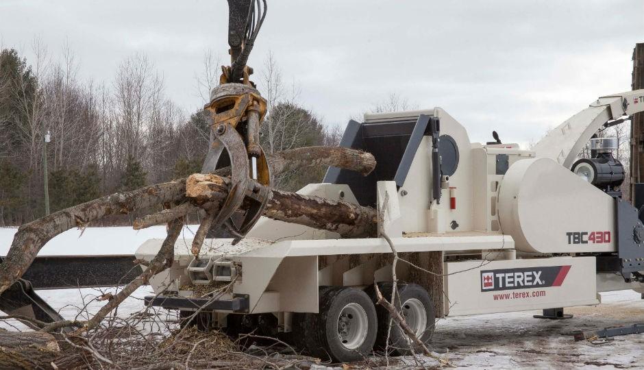 Terex Environmental TBC 430 biomass chipper