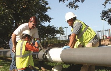 NRI, Inc. - Scar-Guard, protects field joint coatings Pipe Liners