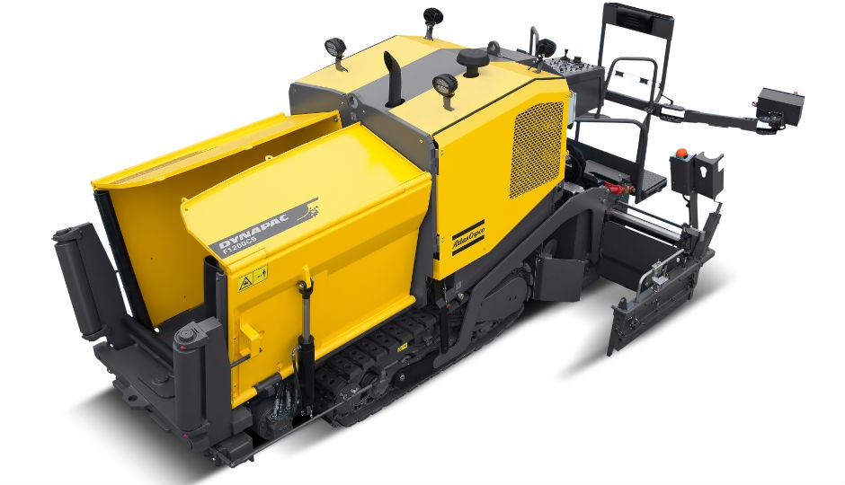 Equipped with a V240VE screed, Dynapac's F1200C paver is remarkably compact but has a laying capacity of 330 tons per hour