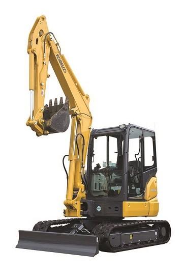 KOBELCO Unleashes SK55SRx Excavator