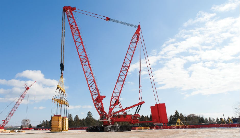 Manitowoc MLC650 successfully completes load test
