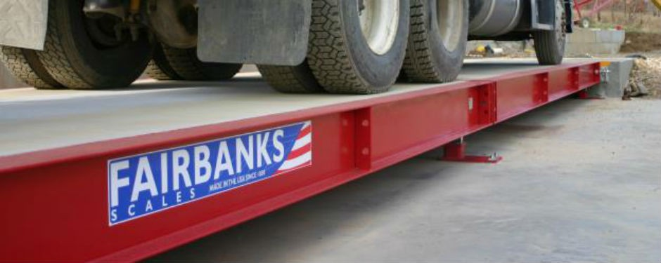 Fairbanks Scales Offers Trident Truck Scale With  Intalogix Technology