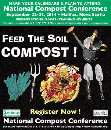 """Compost conference to """"Feed the Soil"""""""