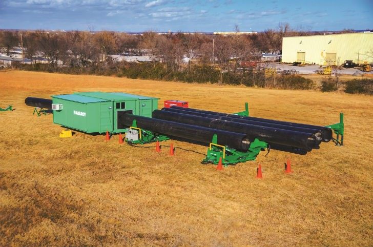 McElroy Manufacturing, Inc. - New QuickCamp System makes pipe fusions possible in extreme weather Pipe Fusion Machines