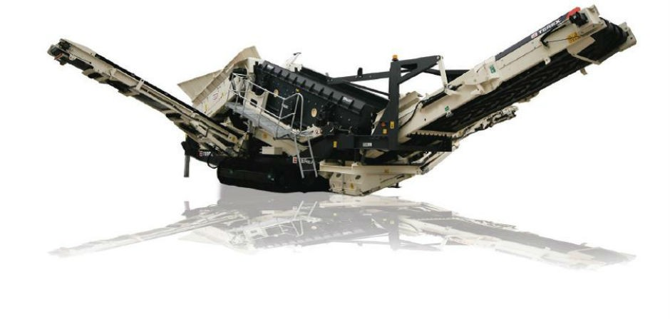 TRS 550 Recycling Screen with Spaleck technology