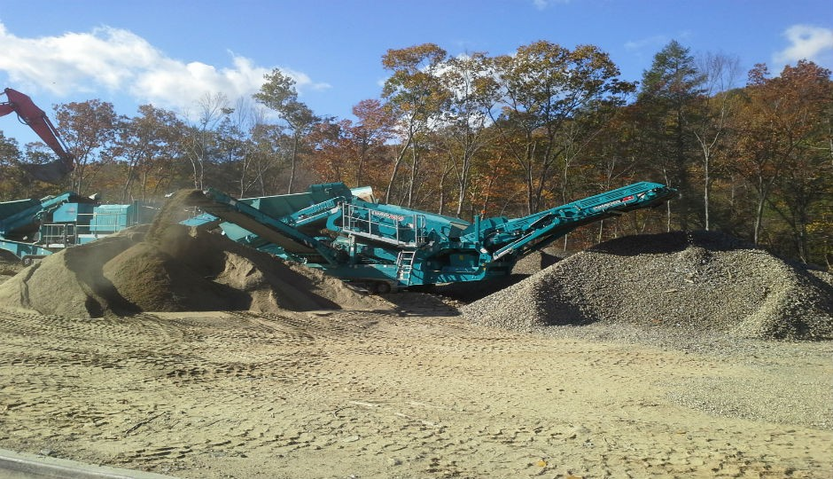 POWERSCREEN WARRIOR 1400X SCREEN