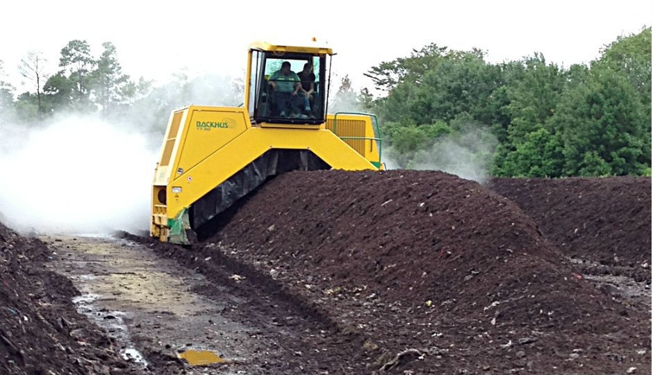 Composting facility runs on efficiency  and total community commitment