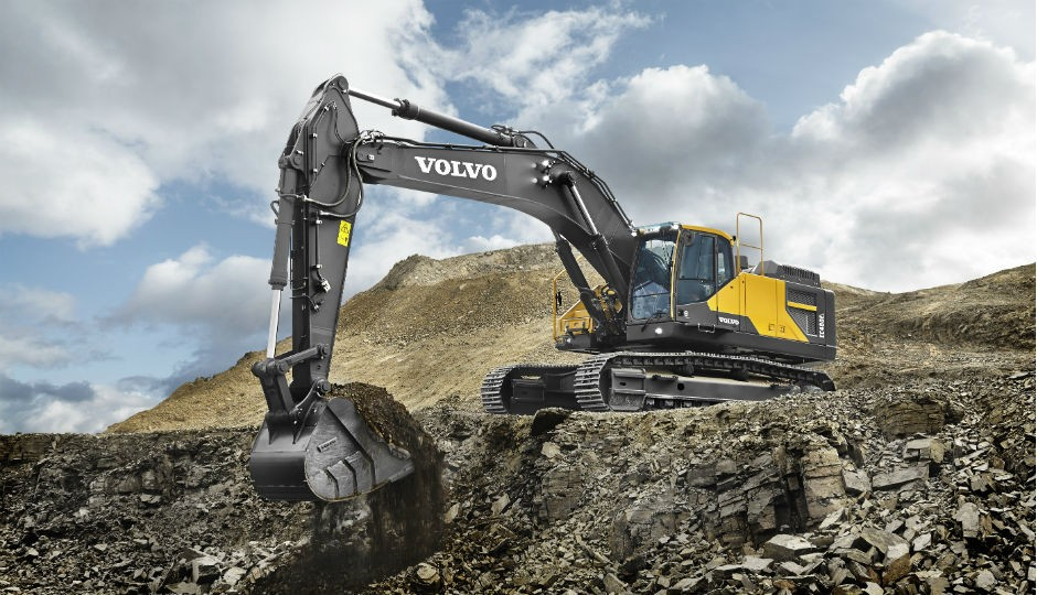 The Tier 4 Final/Stage IV-compliant EC480E crawler excavator from Volvo Construction Equipment