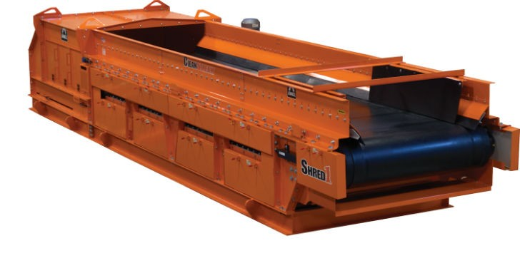 Shred1 Ballistic Separator generates improved profits through better recovery