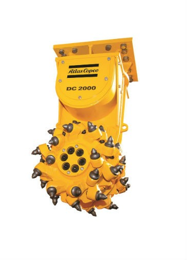 Atlas Copco - New range of Drum Cutters attachments Drum Cutters