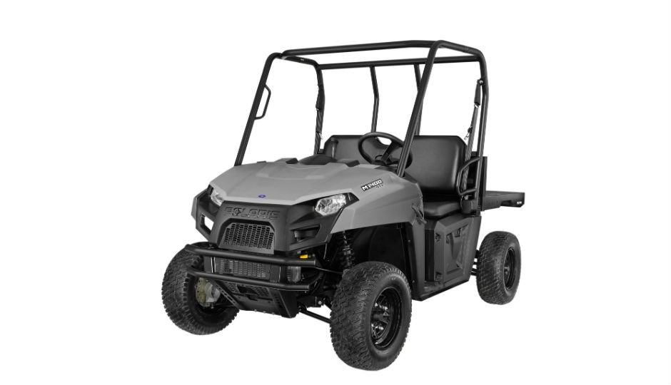 Polaris M1400 gas-powered commercial side-by-side utility vehicle.