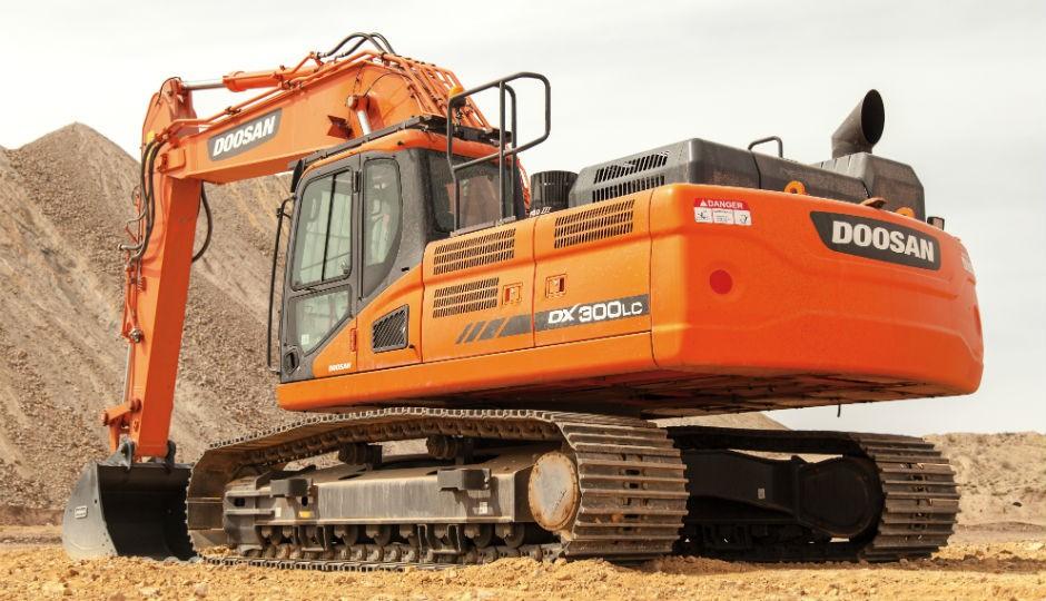 DX300LC-5 crawler excavator.