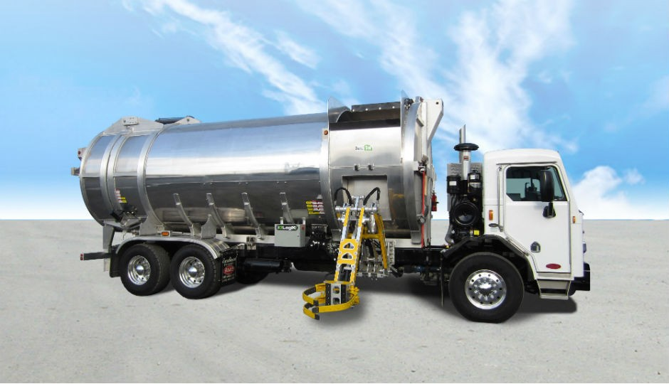 The automated side loader, built from aluminum, is now manufactured by Durabac.