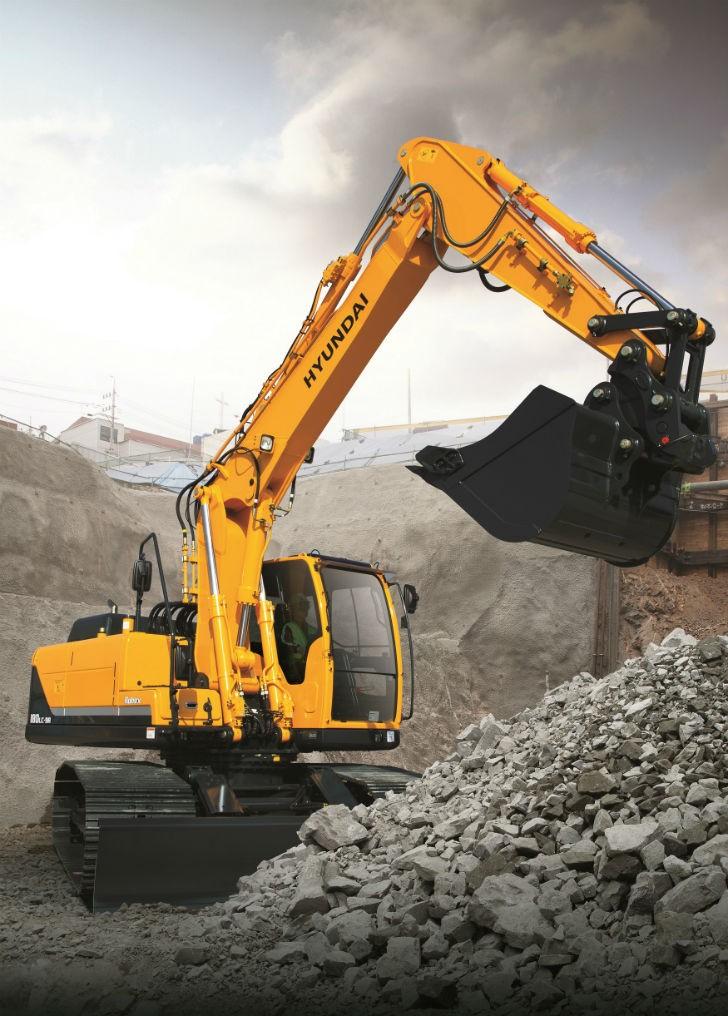 Hyundai Construction Equipment Launches New R140/160/180LC