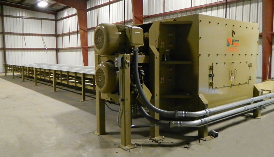 Grinder ideal for biomass applications