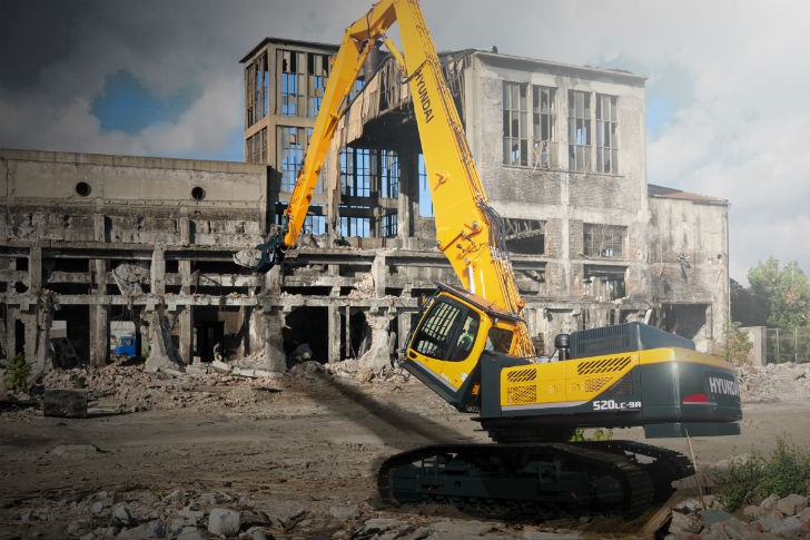Hyundai Demolition Excavator