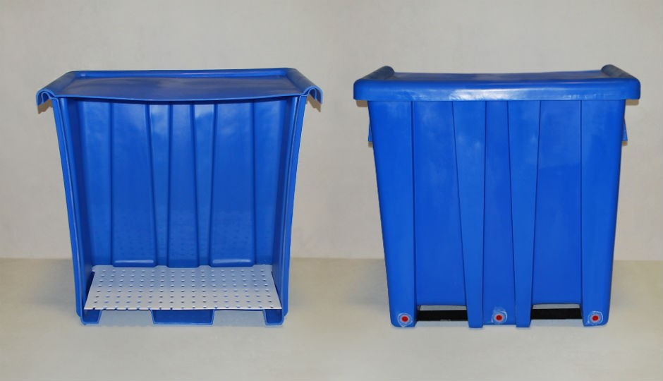 MOD Material Recovery Station Automatically Separates Liquids from Solids for Easy Recycling