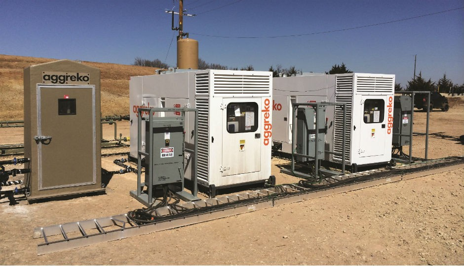 Natural Gas Generators Used To Power Oilfield Equipment Deliver