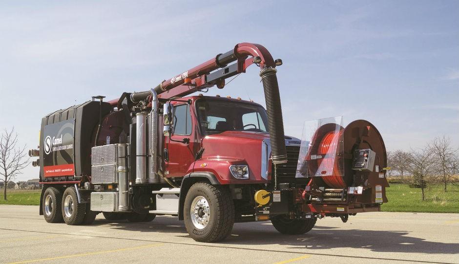 Super Products - Camel 1200 Hydro Excavators