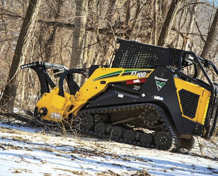 Vermeer FT100 Forestry Tractor