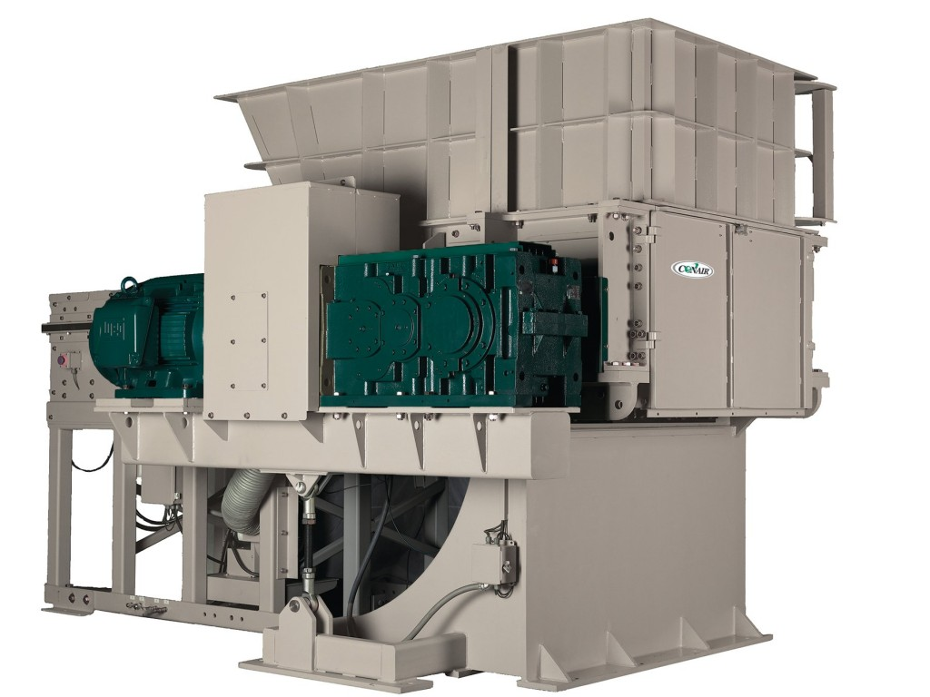 Heavy-duty single-shaft units designed specifically for plastic