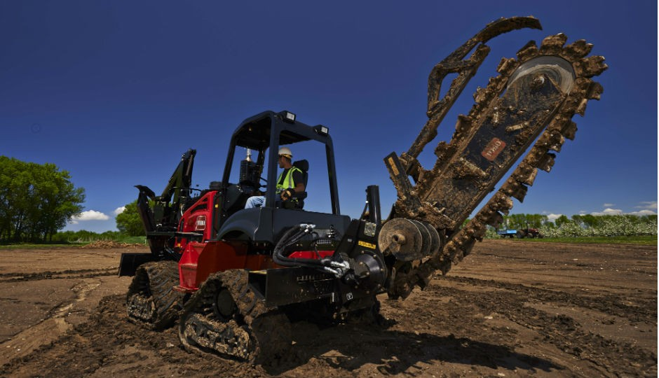 Toro Introduces New Riding Trencher