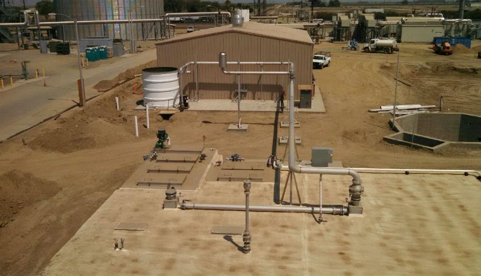 DVO's first installation in Pixley, California.