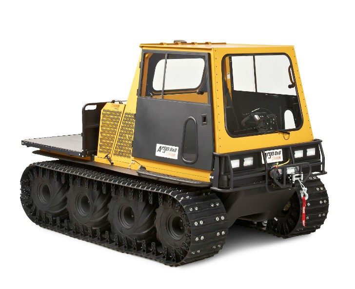New 2015 Argo 8x8 Models Featuring HD Industrial Strength and New Add-On Solutions
