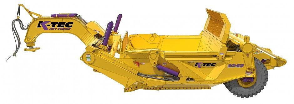K-Tec Earthmovers Inc. - 1243 ADT Scrapers