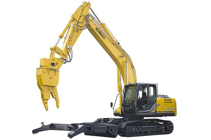 Kobelco Construction Machinery U.S.A Inc. - SK210D Demolition Excavators