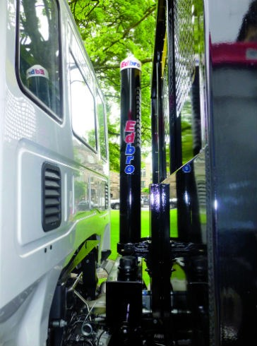 Latest Edbro Cylinder Increases Tipping Speeds For 4x2 Trucks