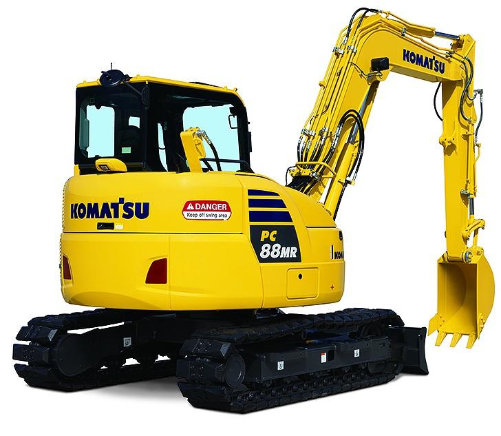 Komatsu America Corp. - PC88MR-10 Excavators