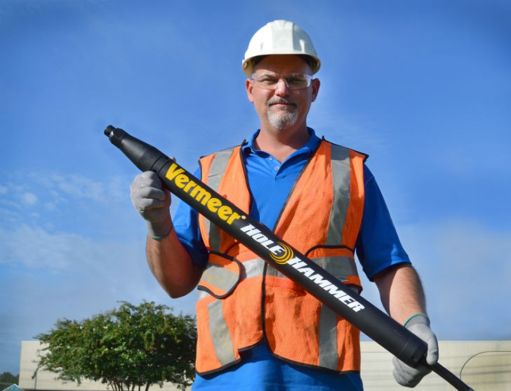 New VPT 250 Short positive-turn reverse piercing tool is economical in a variety of trenchless installations.