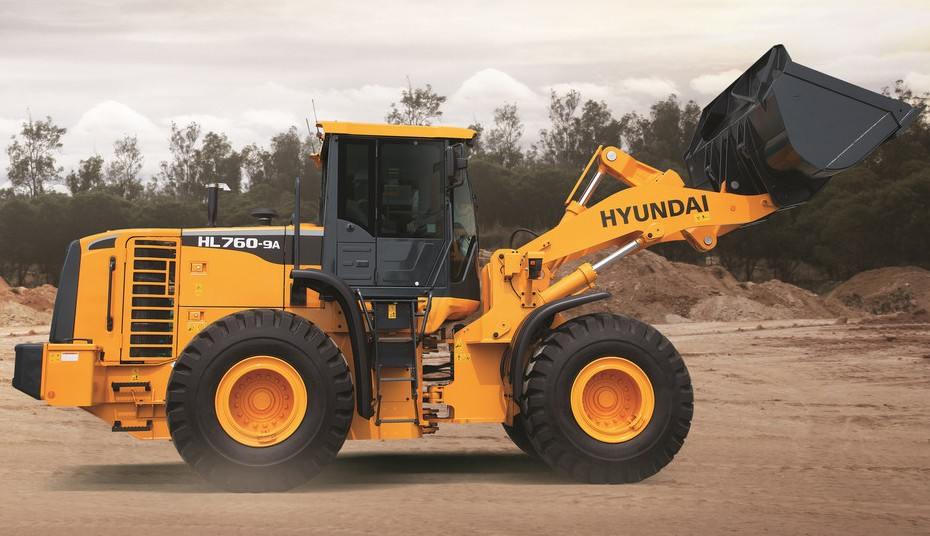 Hyundai Construction Equipment Americas Inc. - HL760-9A Wheel Loaders