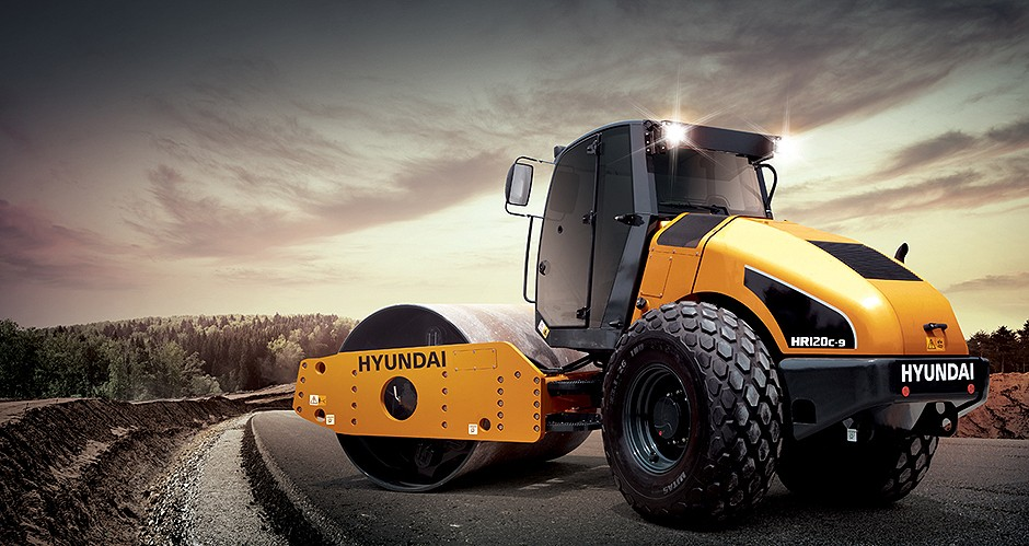 Hyundai Construction Equipment Americas Inc. - HR120C-9 Soil Compactors