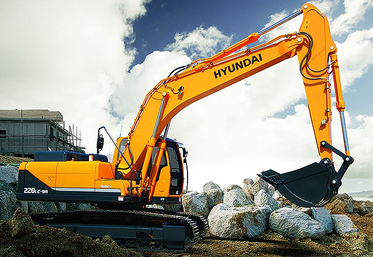 R220LC-9A Excavators