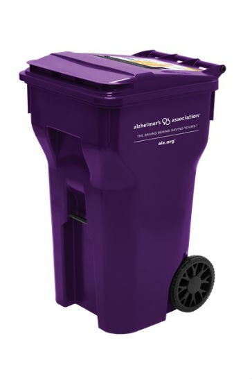 Cascade Cart Solutions Adds Awareness and Funds to the  Fight Against Alzheimer's with New Purple Carts