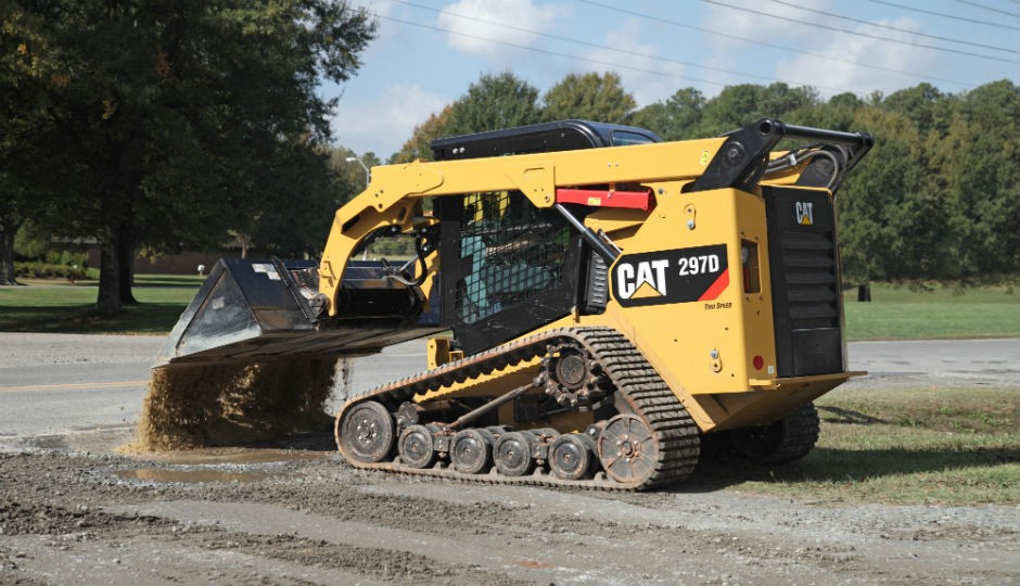 Cat 297D and 297D XHP Feature Innovative Design - Heavy