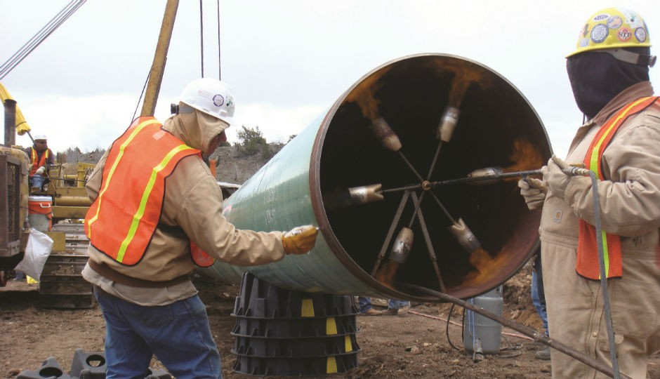 PipePillo is a structured pipeline pillow (SPP) used to safely support fully-loaded pipelines, both in and out of the trench, for the life of the pipeline.