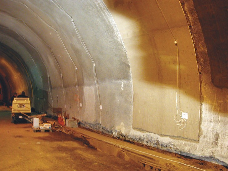 High Performance Fire Protection Ideal for Use in Tunnels