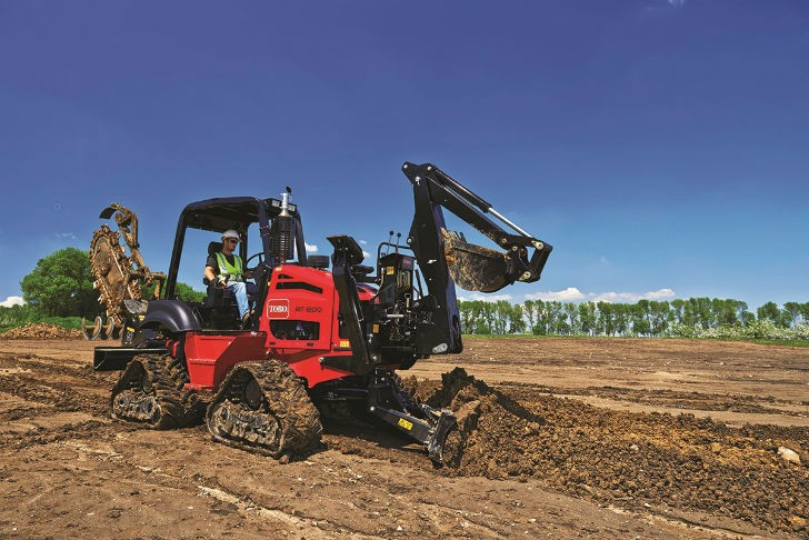 RT1200 Riding Trencher Delivers Powerful Digging Performance
