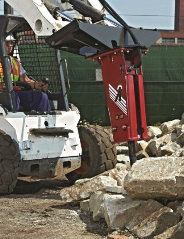 Allied Adds AR Series 70D to Hammer Line for Skid Steers, Mini-Excavators and Loader Backhoes