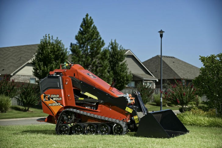 Ditch Witch Releases  SK850 Mini Skid Steer