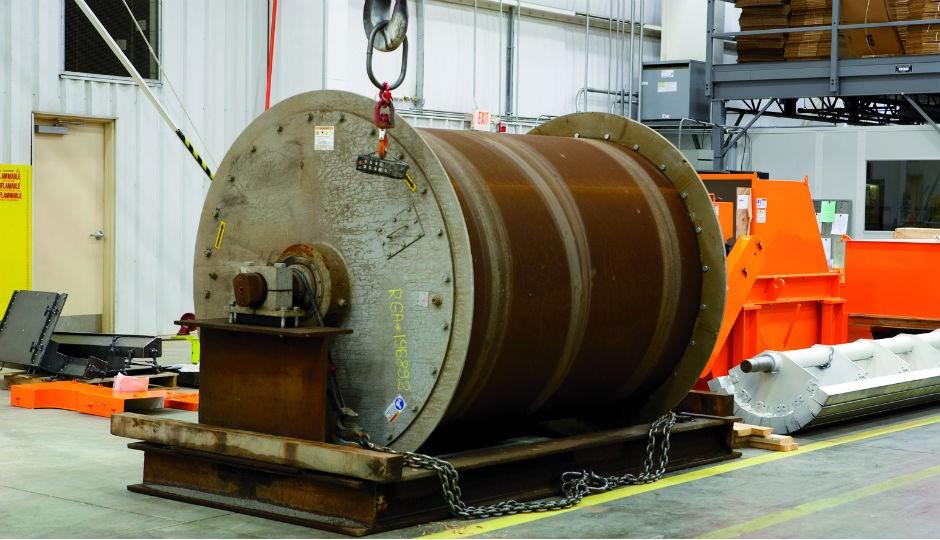 Maintaining Magnetic Drum Separators