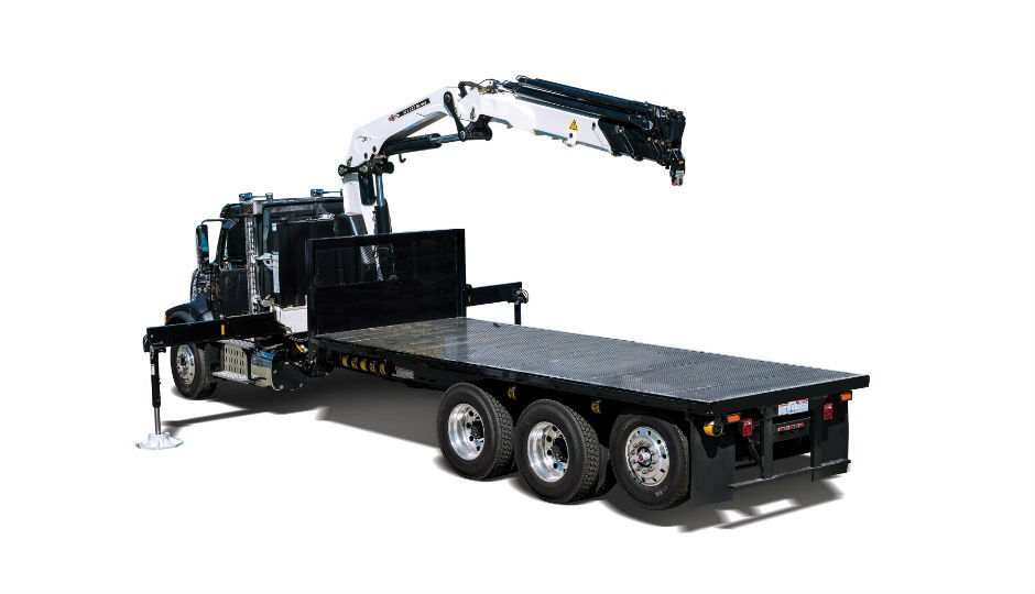 New IMT 32 tm Articulating Crane Offers More Productivity